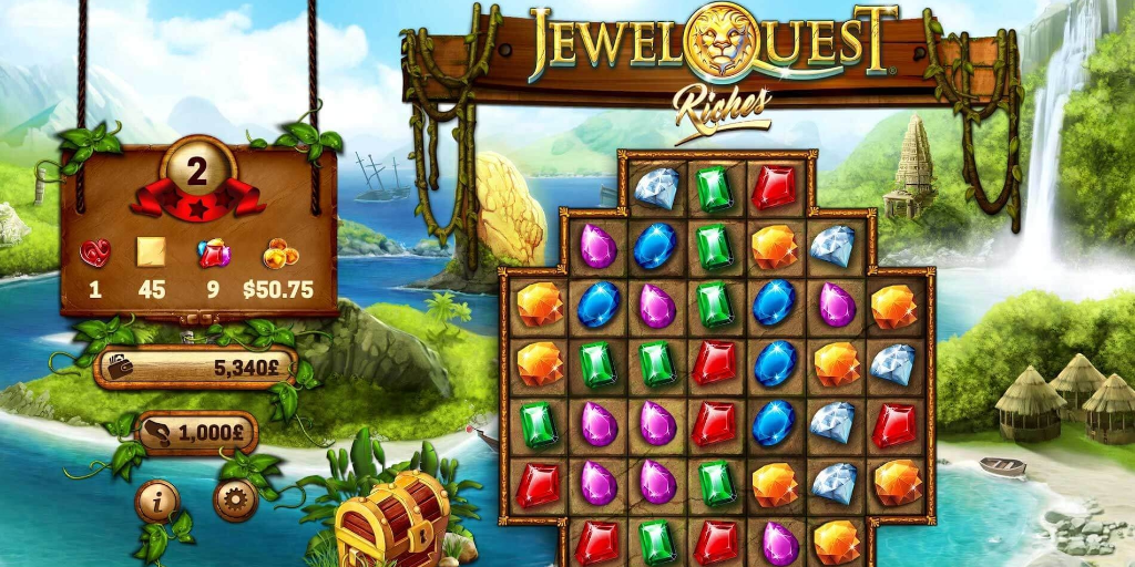 Jewel Quest Riches juego de casino online